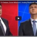 Milanović Plenković debata sučeljavanje
